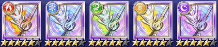 ナイト☆5武器「アリマティア/ソード」のステータス情報