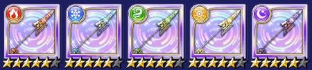 ランサー☆5武器「ガレス/機械槍」のステータス情報