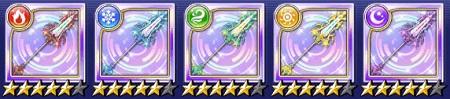 ランサー☆5武器「クローバー/ランス」のステータス情報