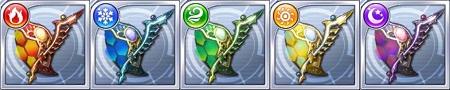 ナイト☆3武器「タルウィステグ/刃」のステータス情報